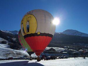 Ballonvaren Dolomieten
