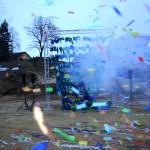 Exploderende ballonnenwand Esvera